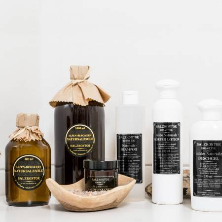 Baden und Hautpflege