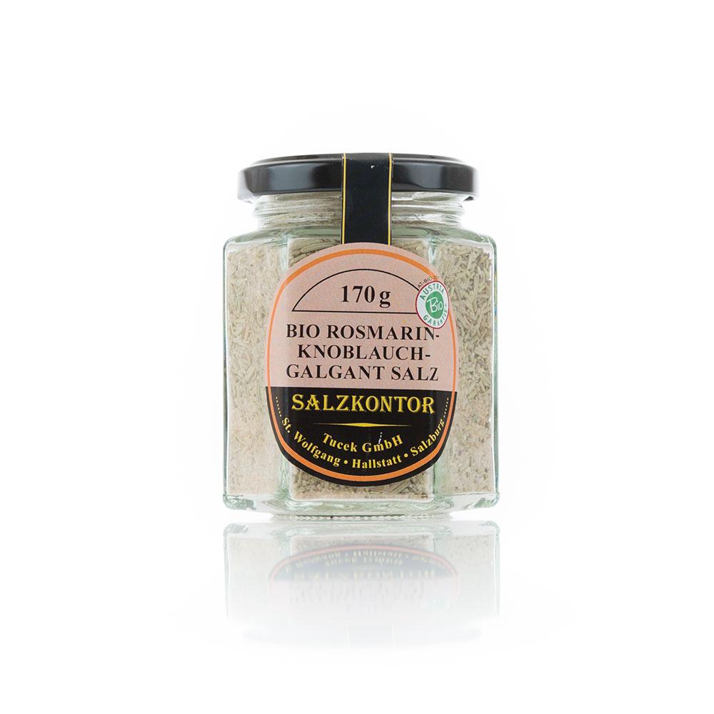 Rosmarin Knoblauch Galgant-Salz 170 g